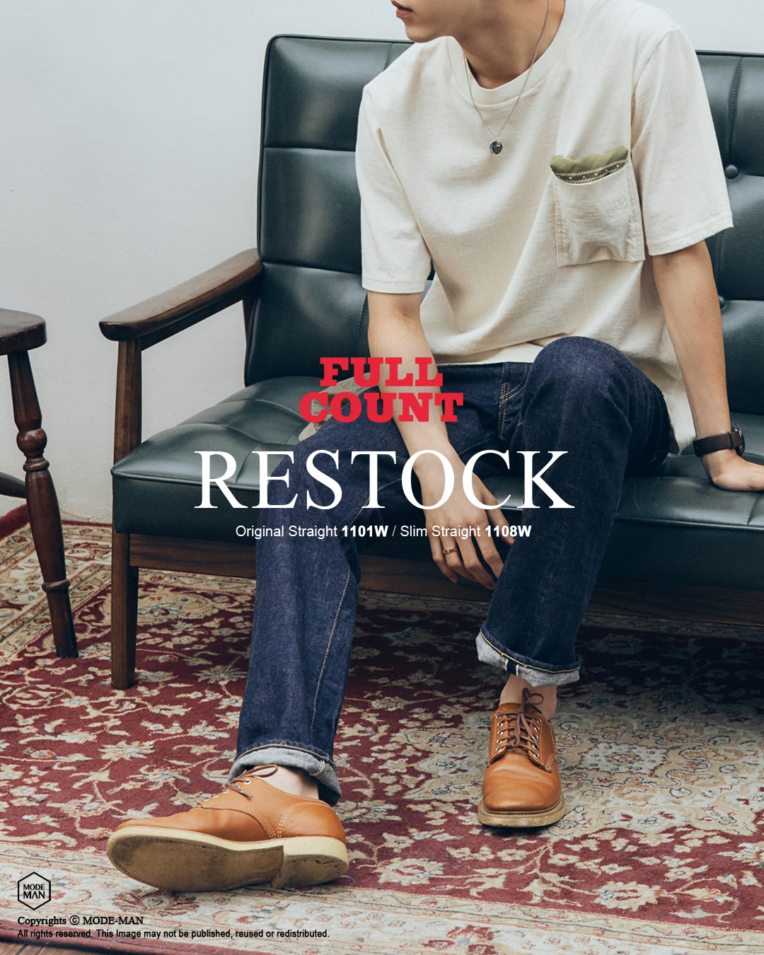 [FULLCOUNT] BASIC DENIM RESTOCK